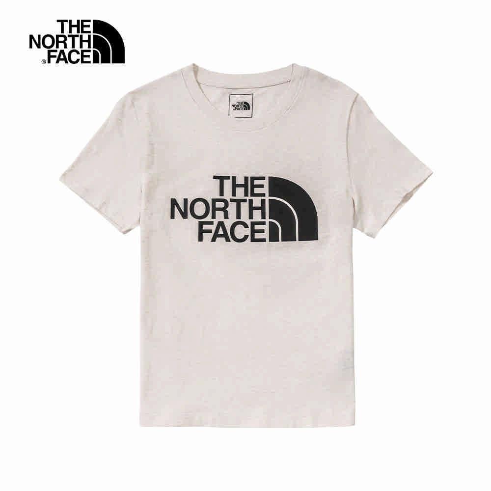 The North Face 女 FlashDry 吸濕排汗短袖上衣 白色