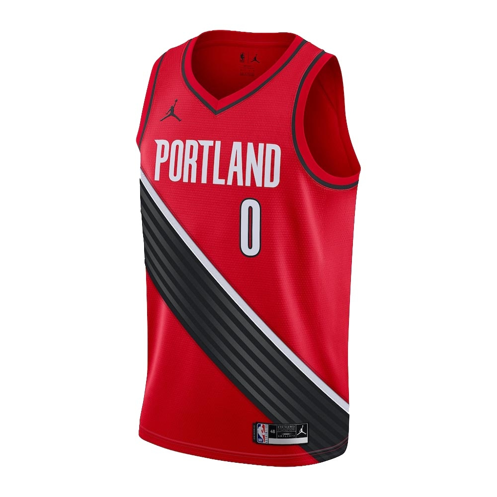 NIKE NBA 青少年 Statement Edition 球衣 拓荒者隊 Lillard Damian