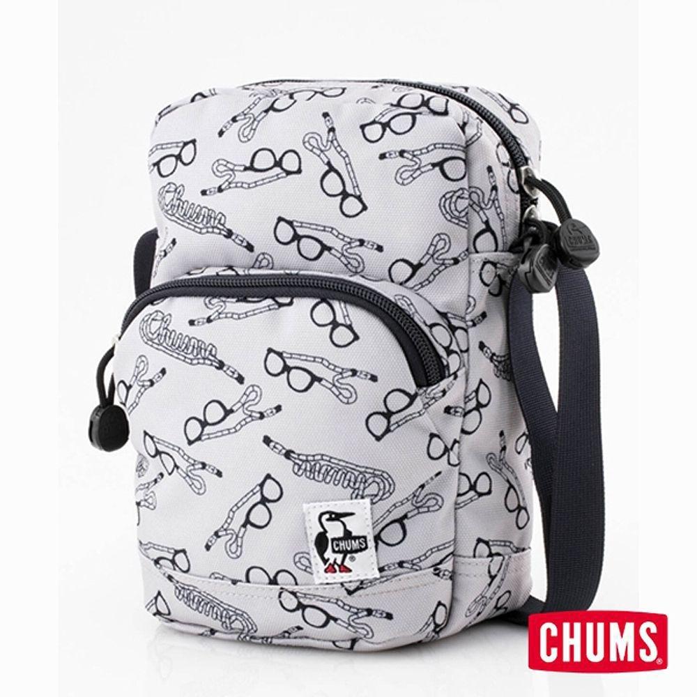 CHUMS Eco 直立肩背包 印花/眼鏡帶側背包 印花/眼鏡帶