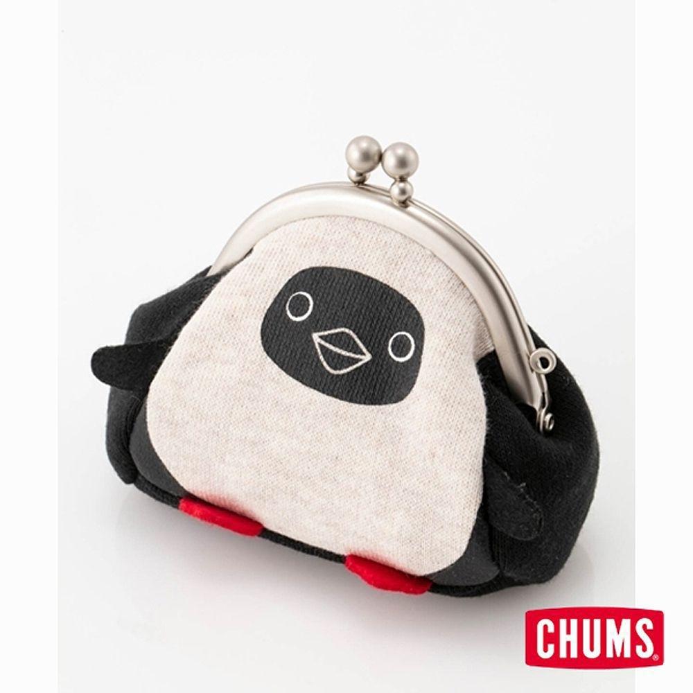 CHUMS Sweat Booby 復古零錢包 米色男女卡夾證件帶零錢包 米色