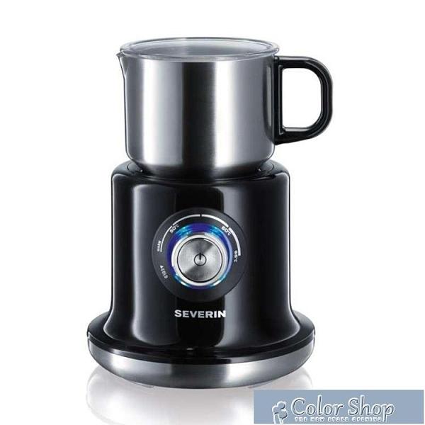奶泡機 德國severin奶泡器商用全自動冷熱電動打泡器家用咖啡牛奶奶沫機 快速出貨