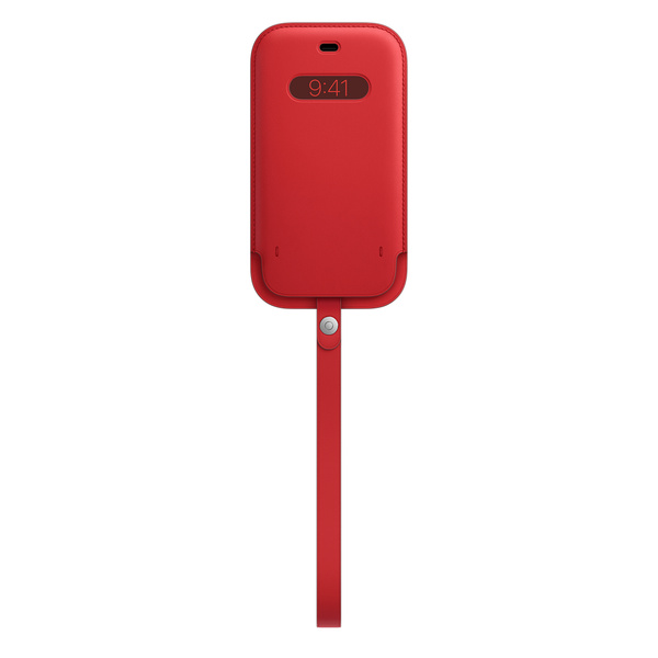 iPhone 12 | Pro MagSafe 皮革護套 - (PRODUCT)RED™