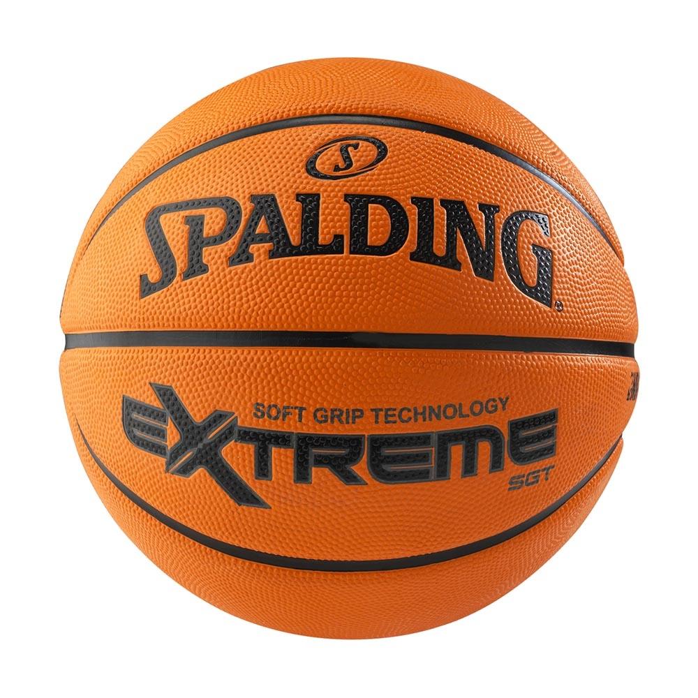 SPALDING 斯伯丁 NBA SGT 深溝柔軟膠 極致橘 7號籃球