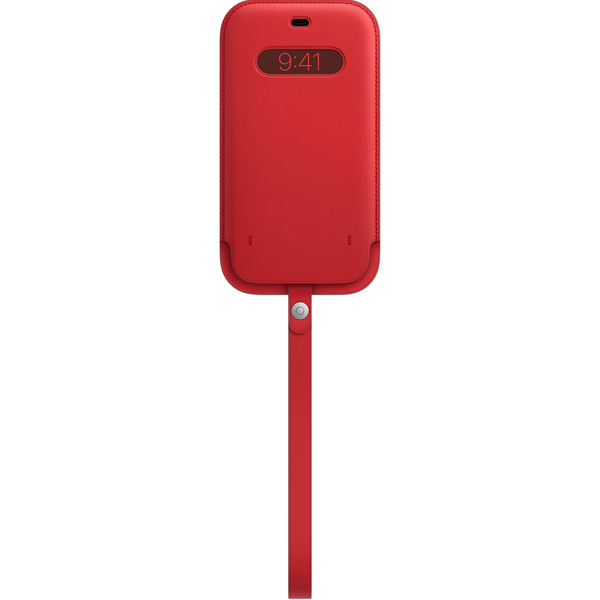 iPhone 12 Pro Max MagSafe 皮革護套 - (PRODUCT)RED™