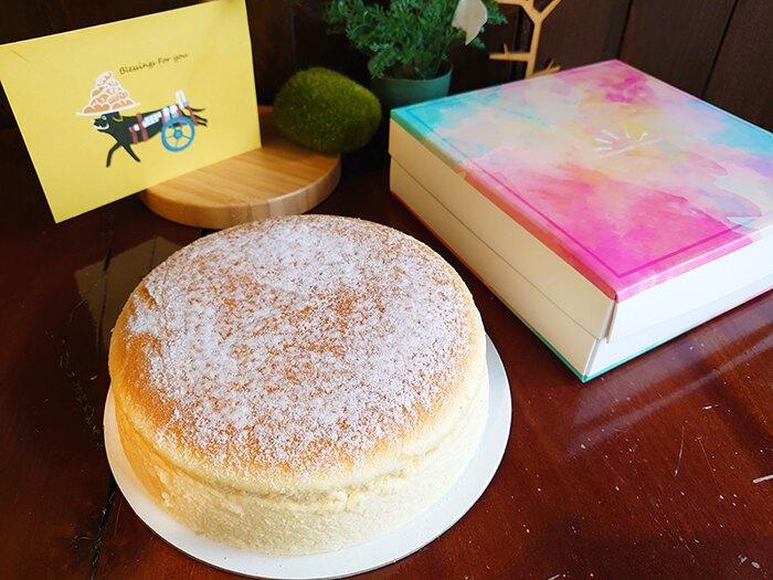 【達克闇黑工場】高個子禾穀米烘焙系列-蜂蜜香米輕乳酪/7吋