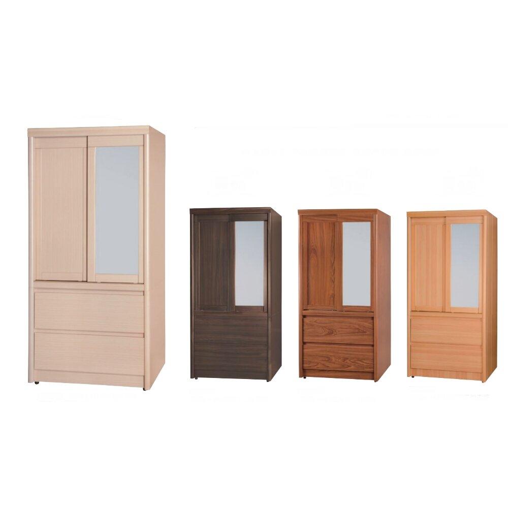 【MUNA】簡單型3X6尺推門衣櫥/衣櫃(共四色)