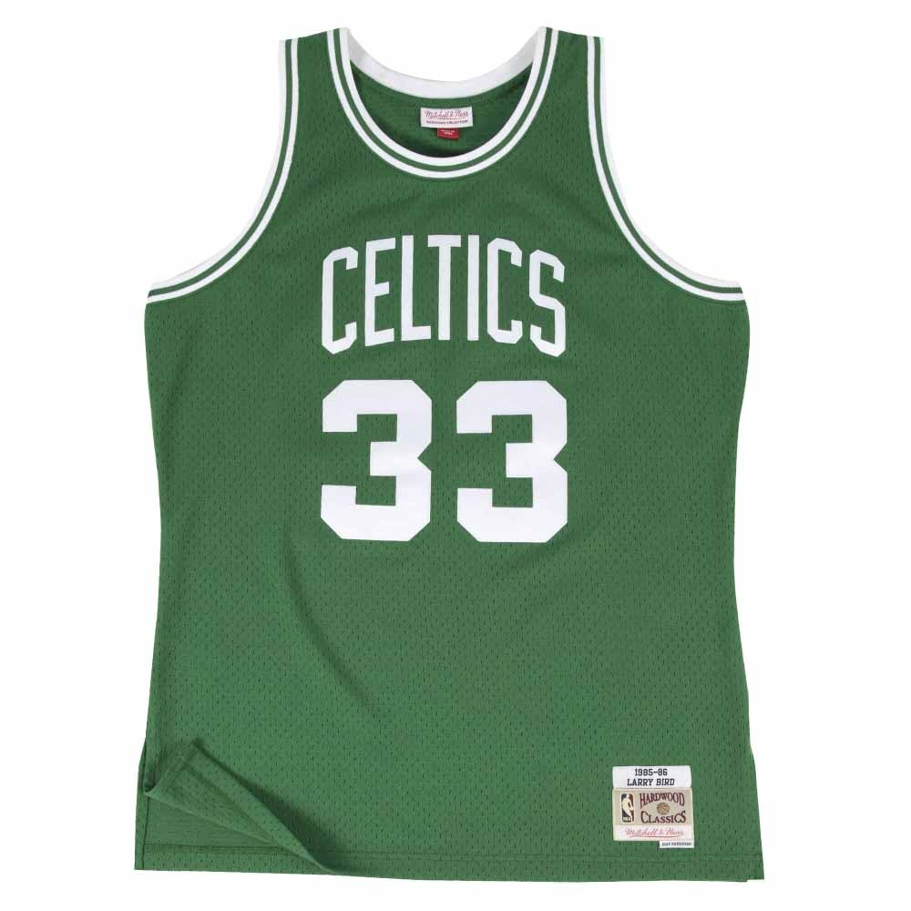M&N G2二代 Swingman復古球衣 塞爾提克隊 85-86 #33 Larry Bird 綠色