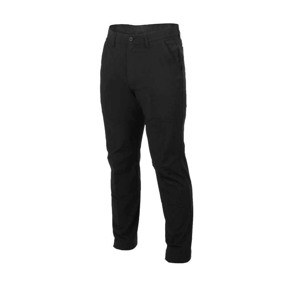 MIZUNO 男平織長褲-慢跑 路跑 運動 吸濕排汗 美津濃 黑
