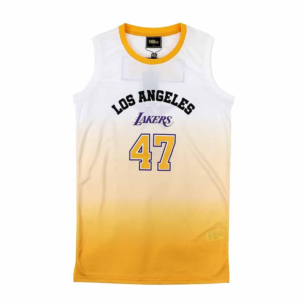 NBA Style C&S 漸層色 連身背心 湖人隊