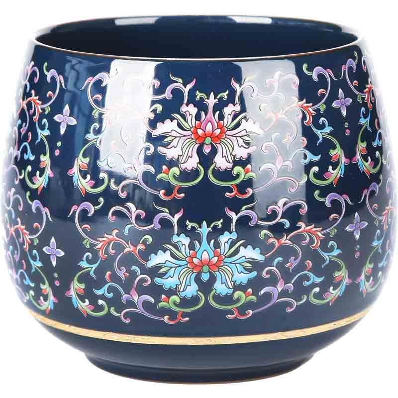 晟窯茶具茶洗大號復古杯洗日式陶瓷禪意水盂家用茶渣缸茶道零配件