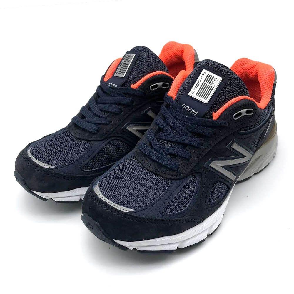 New Balance 990 系列 女 跑步鞋 藍