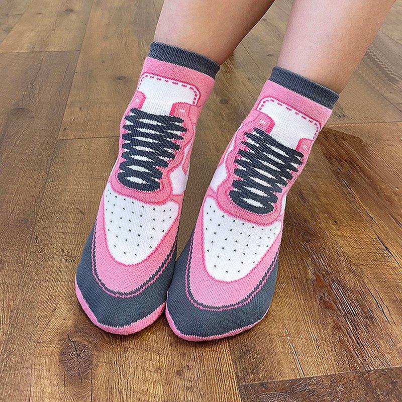 推薦【SOCKS鞋型襪】STRAWBERRY│中筒襪 男襪 女襪   交換禮物