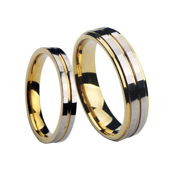 真男人首飾 時尚鎢金情侶對戒指 新品上市韓版情侶配飾品 指環