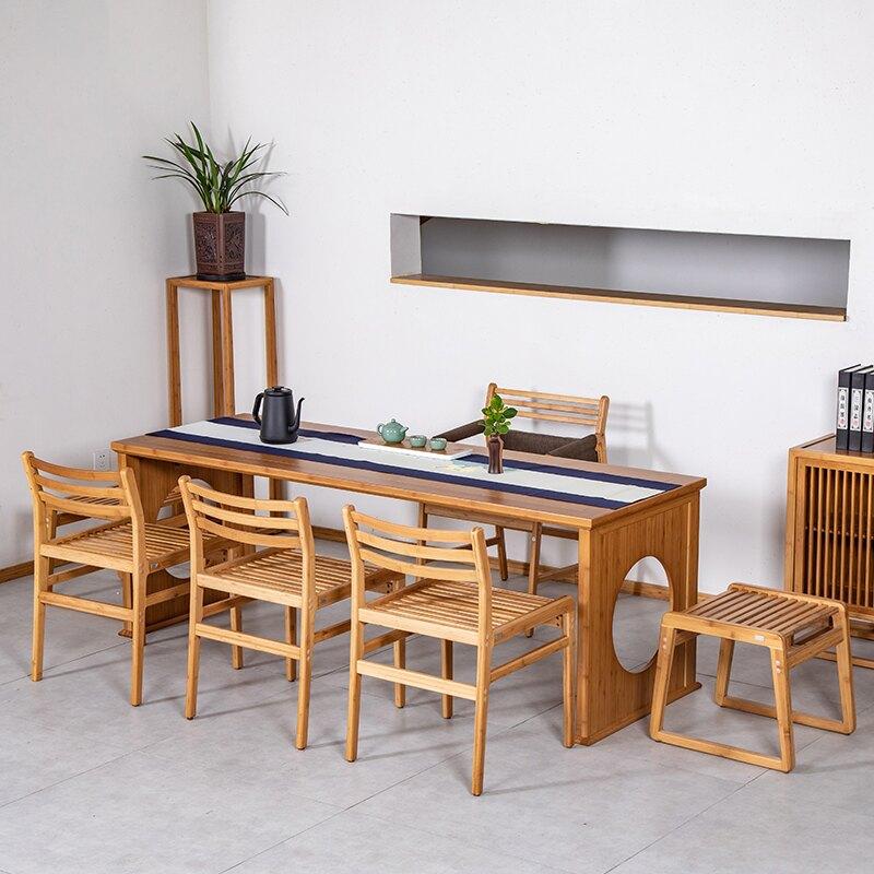 昱器功夫泡茶臺生活茶桌子茶室禪意空間家具新中式簡約喝茶辦公桌