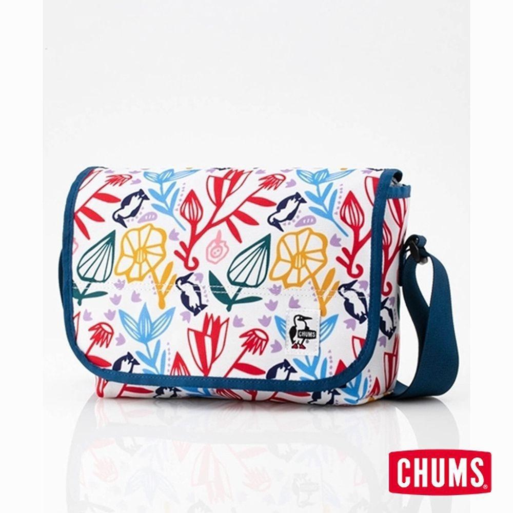 CHUMS Eco Flap 迷你肩背包 印花/花園側背包 印花/花園