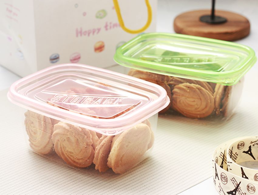 【EP01-2】PP盒、透明盒、塑膠盒、手工餅乾盒、密封盒、餅乾盒