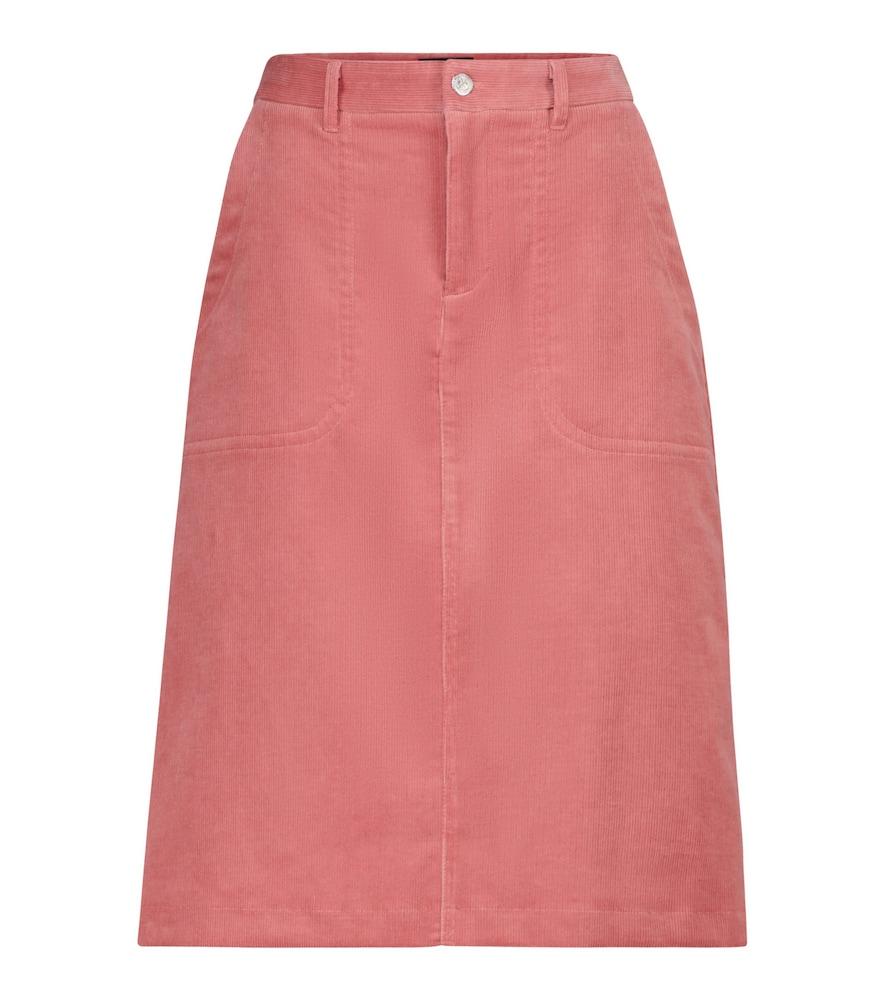 Jennie corduroy midi skirt