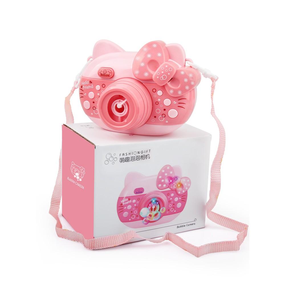 泡泡機-泡泡機玩具相機抖音同款吹泡泡槍網紅少女心補充液兒童全自動批發
