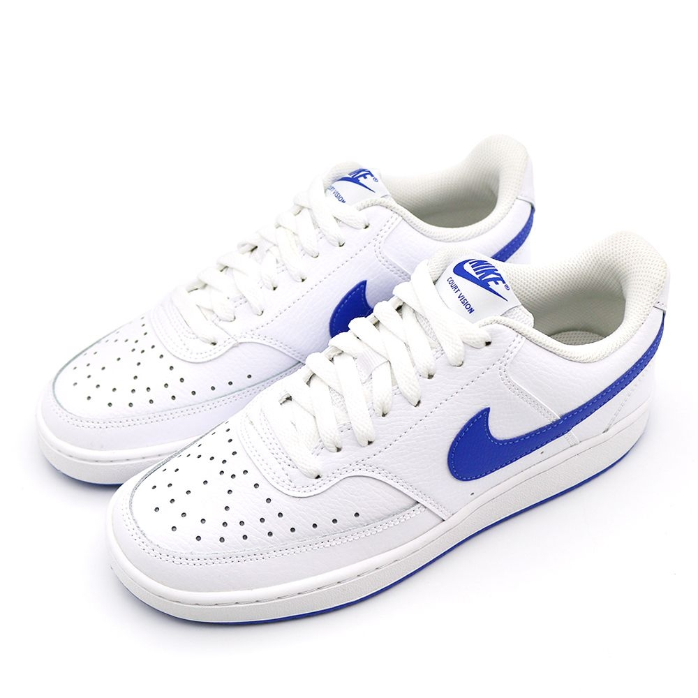 NIKE COURT VISION LO 男 休閒鞋 白藍