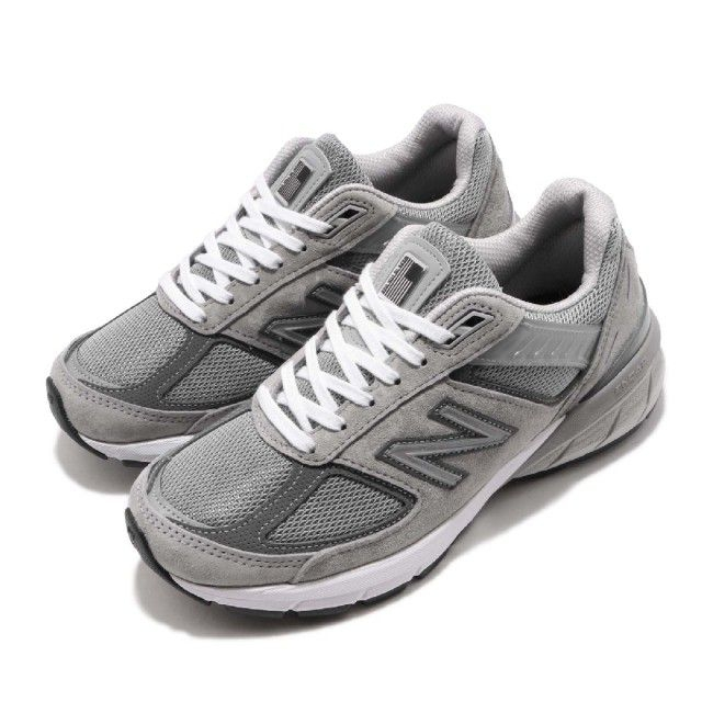 New Balance 990系列V5 女 跑步鞋 灰