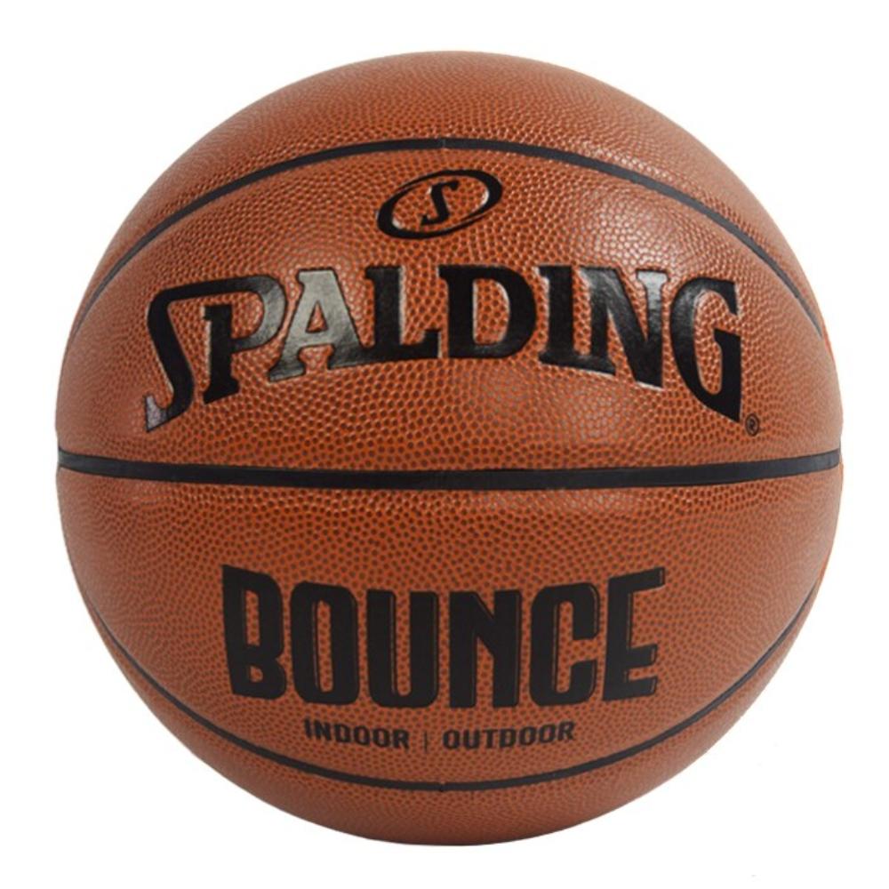 SPALDING 斯伯丁 NBA Bounce 合成皮 7號籃球 棕