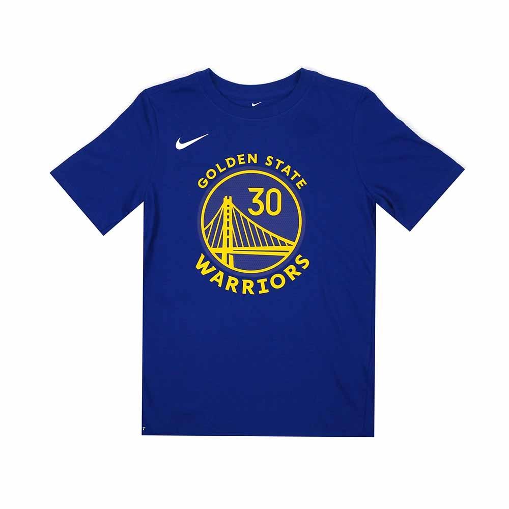 NIKE 青少年 DRI-FIT短袖T恤 勇士隊 Stephen Curry