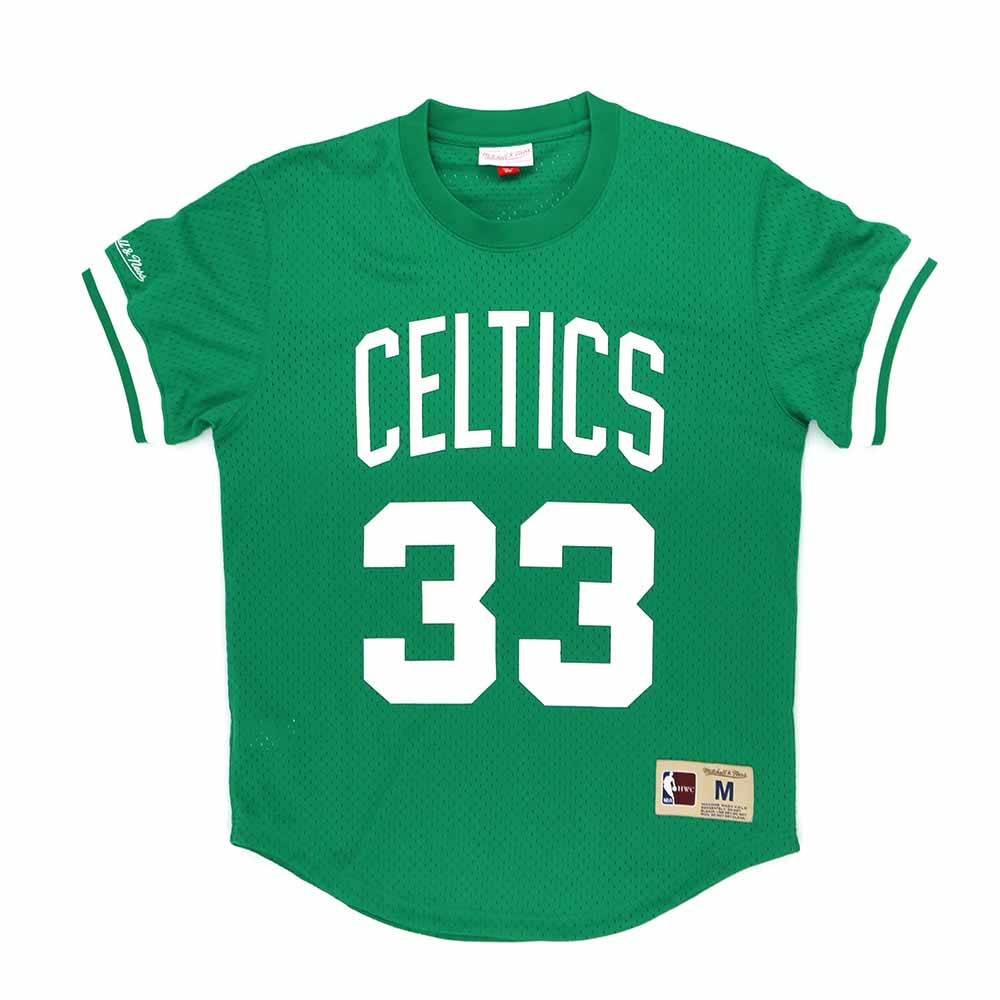 M&N NBA球員號碼T恤 塞爾提克 Larry Bird 綠色