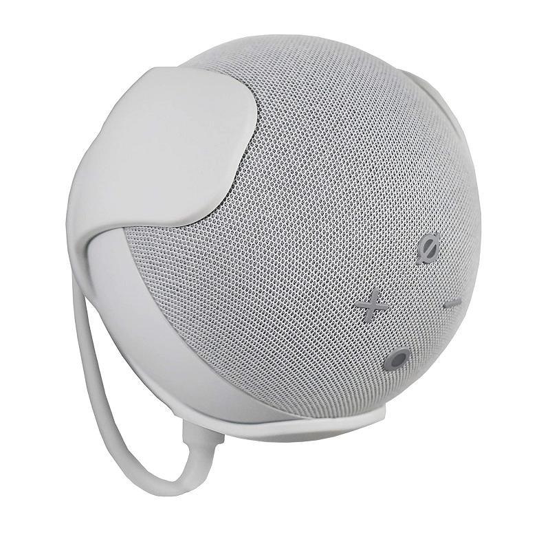 EchoGear 壁掛架 Echo Dot(第4代)專用 B08D7K9BRS 黑/白 [9美國直購]