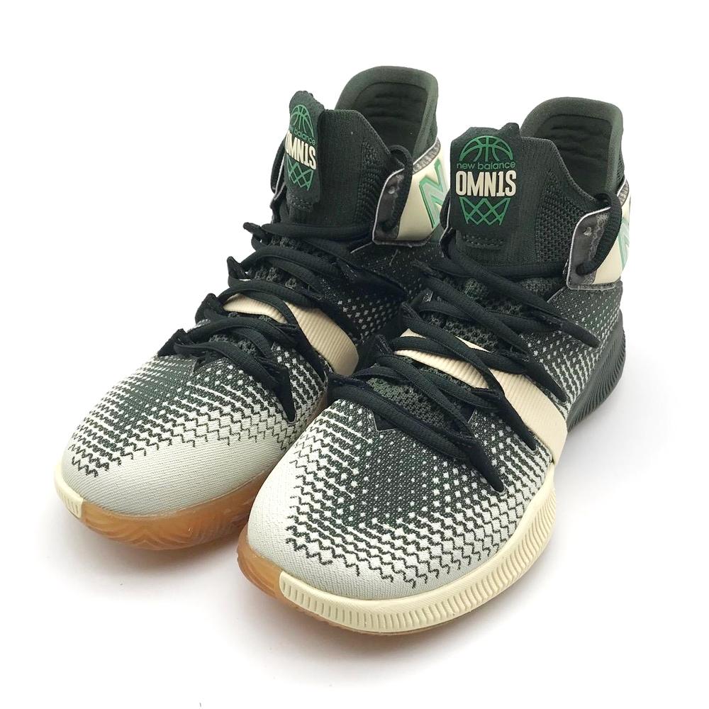New Balance  中大童 籃球鞋 淺咖啡