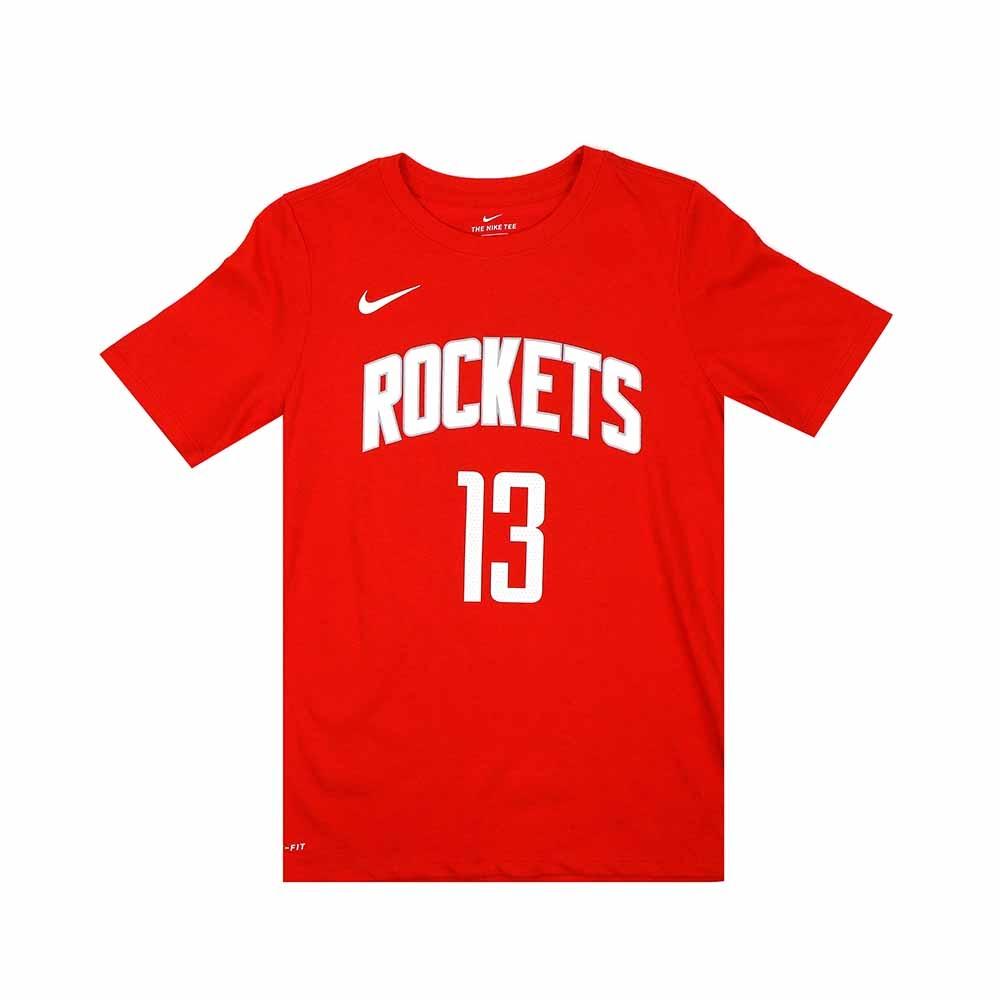 NIKE 青少年 DRI-FIT短袖T恤 火箭隊 James Harden