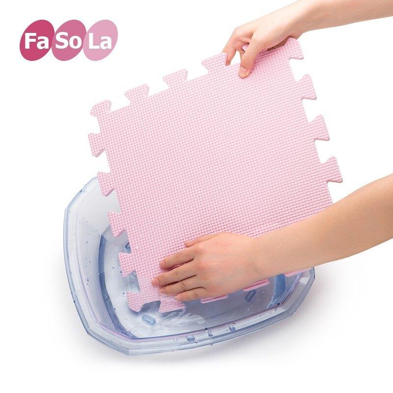 夏季無味小號嬰兒童客廳拼接式爬行墊家用防滑防水寶寶地墊