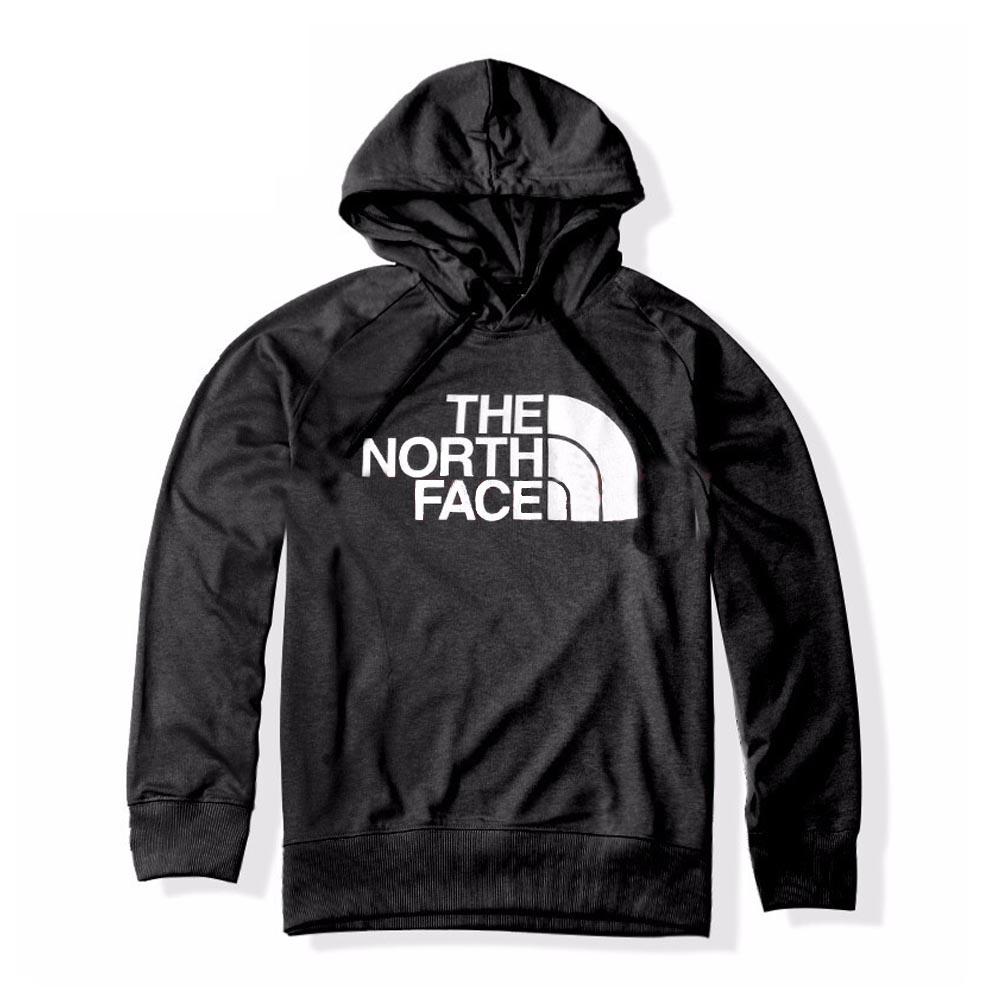 The North Face 男 FlashDry 吸濕排汗連帽上衣 黑色