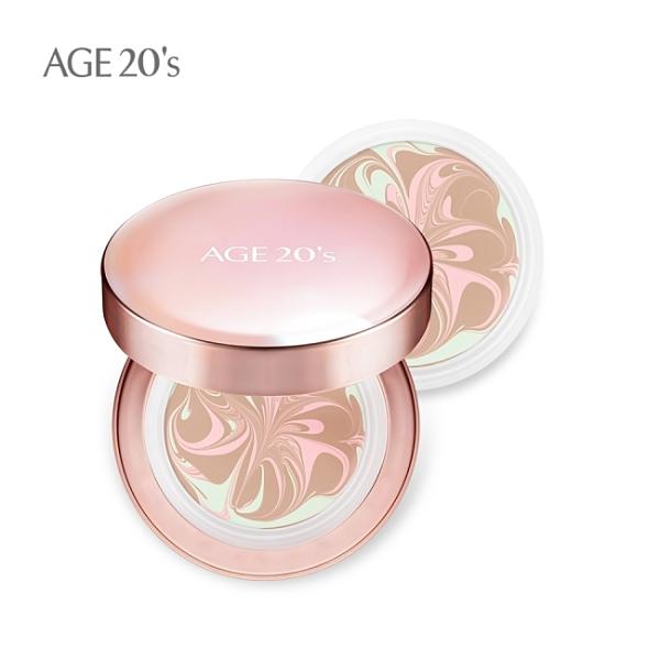 AGE20s光感璀璨爆水粉餅XP自然色(1空殼+2粉蕊)