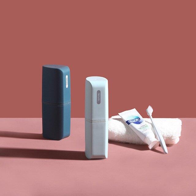 四合一便攜式旅行洗漱刷牙漱口杯牙膏牙刷盒粉底液小樣分裝瓶套裝