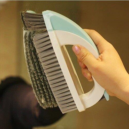 家用硬毛擦地板地磚洗瓷磚地毯清潔刷子廁所浴室打掃墻壁組合工具
