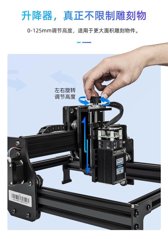 雕將 激光雕刻機 桌上型雷雕機 刻章機 木工 皮雕  雕將 激光雕刻機 小型全自動便攜式不銹鋼打標機