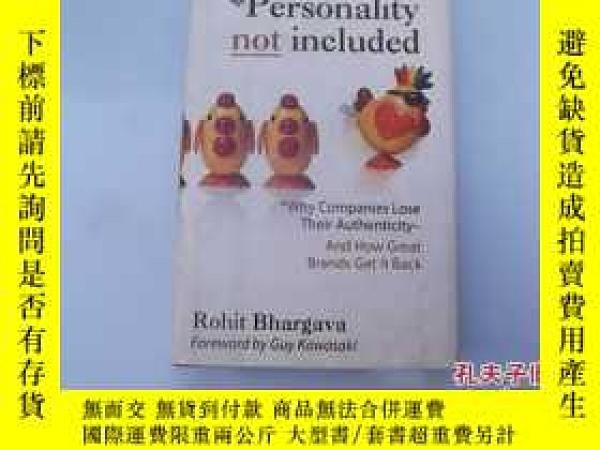 二手書博民逛書店Personality罕見not includedY207801 出版2008