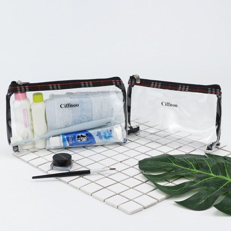 透明pvc大容量旅行洗漱包內膽出門出行外出用品濕毛巾防水收納袋