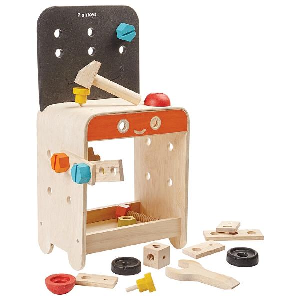 《 泰國 PLAN TOYS 》小工匠工作檯 / JOYBUS玩具百貨