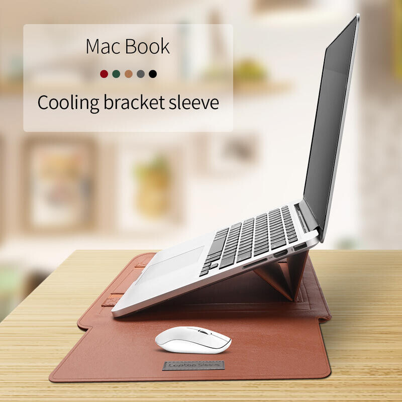 高雄現貨15吋 摺疊支架筆電包 surface筆電包 附贈電源收納包 macbook筆電支架包