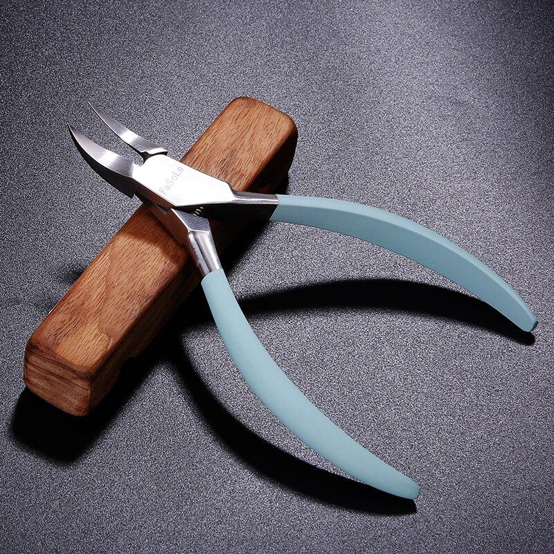成人家用甲溝炎厚甲專用不銹鋼鷹嘴指甲鉗內嵌修腳指甲腳趾甲剪刀