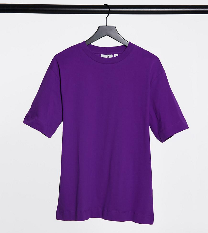 COLLUSION Unisex t-shirt in purple