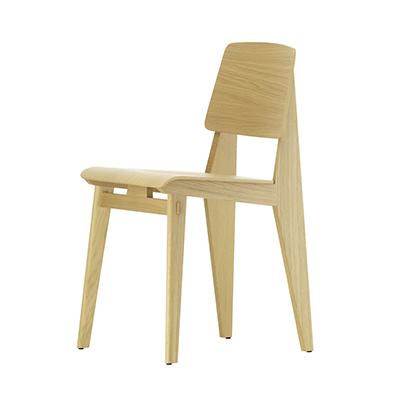 Chaise Tout Bois 標準實木椅(淺橡木)