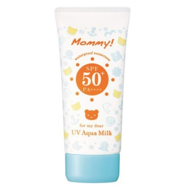 KISS ME Mommy UV 牛奶水潤防曬乳SPF 50+ (50g)