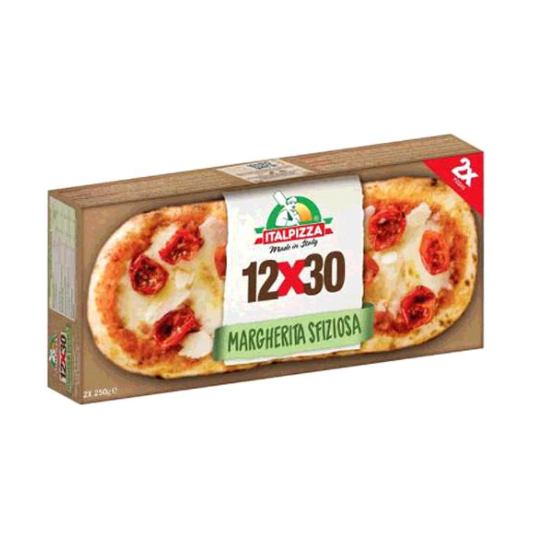 W124041 Italpizza 義式瑪格麗特窯烤披薩 250公克 X 2入X 2入