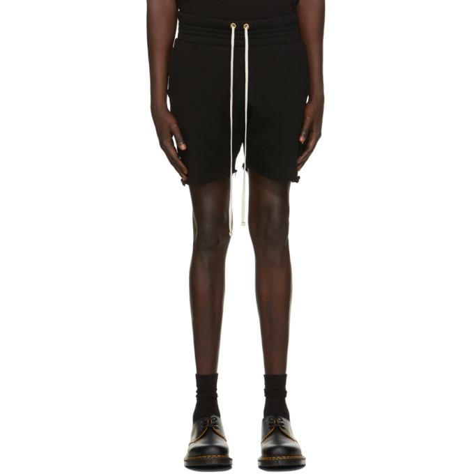 Les Tien 黑色 Yacht 短裤