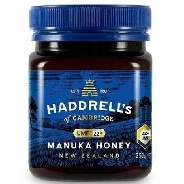 漢德爾Haddrell's~麥蘆卡蜂蜜UMF22+ 250公克/罐 (紐西蘭原裝進口)