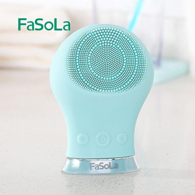 充電式硅膠潔面儀洗臉刷吸黑頭機按摩電動臉部毛孔清潔器