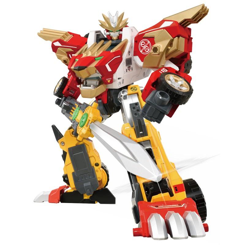 地球防衛隊 EG01 猛獅迅豹(附初回特典車) 玩具反斗城