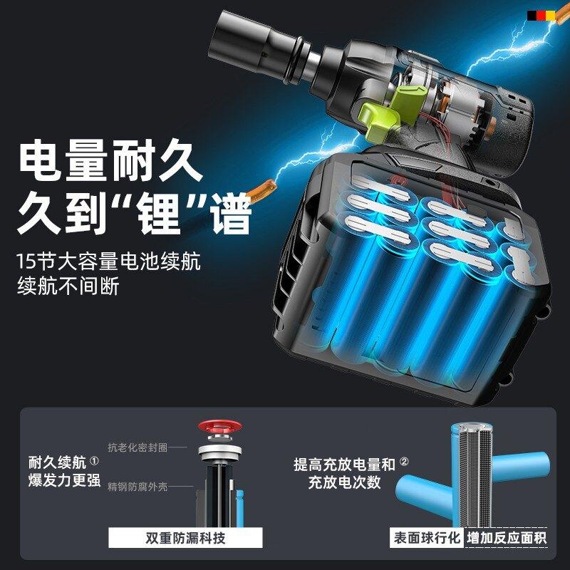 大扭力 電動扳手 雙速正反轉 衝擊震動 充電電鑽 鋰電鑽 電鑽 電動 電動工具 衝擊起子 德國芝浦無刷